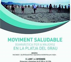Moviment Saludable en la Platja del Grau
