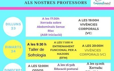 SETMANA DE PORTES OBERTES