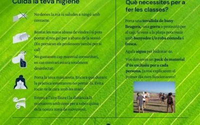 Instruccions per a gaudir d'unes classes a l'aire lliure amb seguretat