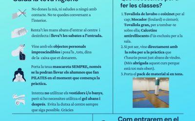 INSTRUCCIONS PER A GAUDIR D'UNES CLASSES AMB SEGURETAT – CURS 20/21