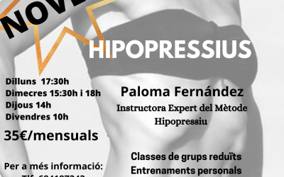 CLASSES D'HIPOPRESSIUS