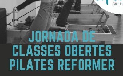 JORNADA DE CLASSES OBERTES PILATES REFORMER